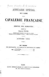 Annuaire spécial de l'arme de la cavalerie française et du service des remontes