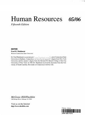 Human Resources 05 06 PDF