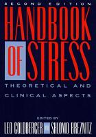Handbook of Stress  2nd Ed PDF
