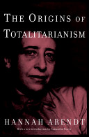 The Origins of Totalitarianism Book