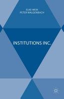 Institutions Inc.