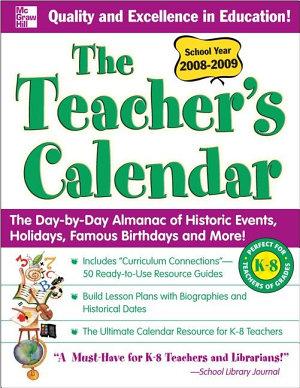 The Teacher s Calendar School Year 2008 2009 PDF