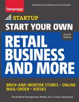 Start Your Own Retail Business and More PDF