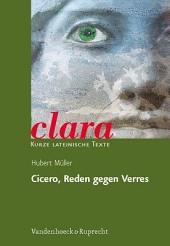 Cicero, Reden gegen Verres