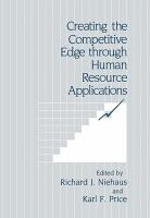 Creating the Competitive Edge through Human Resource Applications PDF