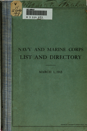 Officers of the Navy and Marine Corps of the United States: Volume 3