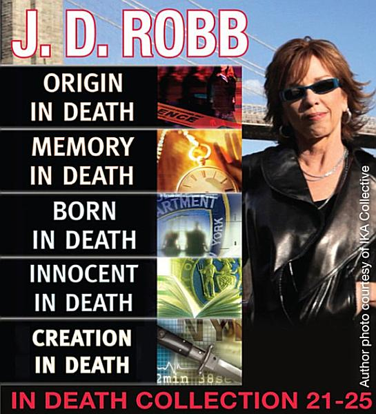 Download J D  Robb IN DEATH COLLECTION books 21 25 Book