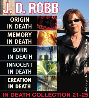 J D  Robb IN DEATH COLLECTION books 21 25