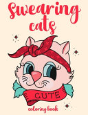 Swearing Cat Coloring Book