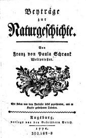 """""""Beyträge"""" [Beiträge] zur Naturgeschichte"""