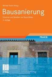 Bausanierung: Erkennen und Beheben von Bauschäden, Ausgabe 5
