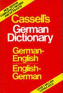 Cassell's German Dictionary