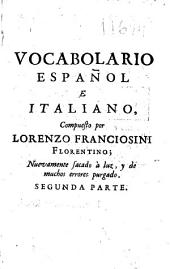 Vocabulario español e italiano