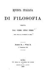 Rivista italiana di filosofia