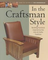 In the Craftsman Style PDF