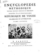 Encyclopedie Methodique