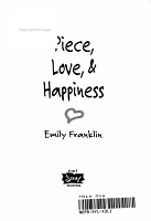 Piece  Love  and Happiness PDF