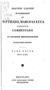 In Novum Testamentum commentarii: ad editionem Amstelodamensem, Volumes 1-2