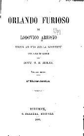 Orlando furioso di Lodovico Ariosto: ed. ad uso della gioventù