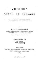 Victoria, Queen of England