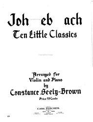 Ten little classics for violin with piano accompaniment PDF