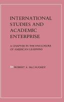 International Studies and Academic Enterprise PDF