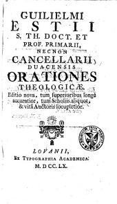 Orationes theologicae
