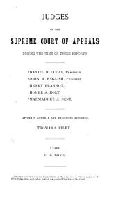 Report of Cases Determined in the Supreme Court of Appeals of the State of West Virginia: Volume 37
