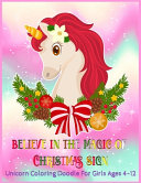 Believe in The Magic of Christmas Sign PDF