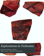 Explorations in Turkestan: With an Account of the Basin of Eastern Persia and Sistan. Expedition of 1903