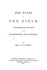 The Wines of the Bible PDF