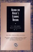 Agenda for Africa s Economic Renewal PDF