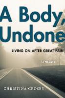 A Body  Undone PDF