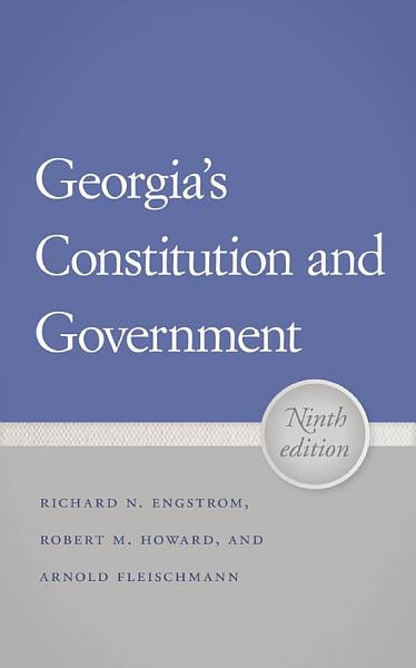 Download Georgia s Constitution and Government Book
