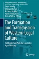 FORMATION AND TRANSMISSION OF WESTERN LEGAL CULTURE.
