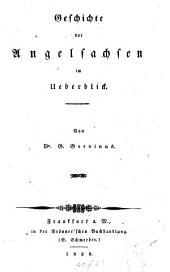 Geschichte der Angelsachsen im Ueberblick