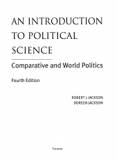 An Introduction to Political Science PDF
