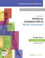 Jarvis s Physical Examination and Health Assessment Student Lab Manual PDF