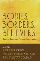Bodies  Borders  Believers PDF