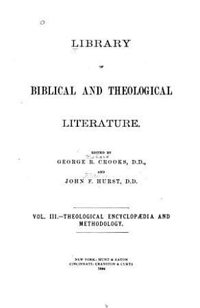 Theological Encyclopaedia and Methodology PDF