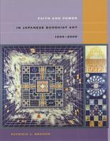 Faith and Power in Japanese Buddhist Art  1600   2005 PDF