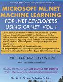Microsoft ML.Net Machine Learning for .Net Developers Using C#.Net