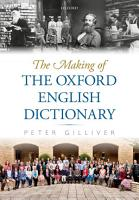 The Making of the Oxford English Dictionary PDF