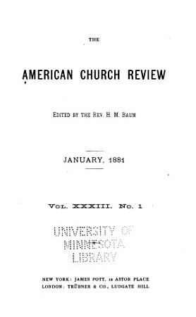 The Church Review PDF