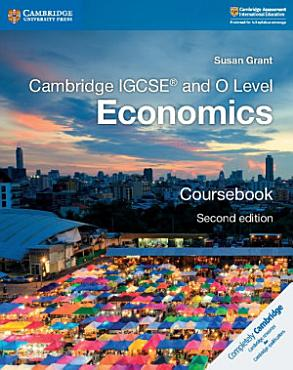 Cambridge IGCSE   and O Level Economics Coursebook PDF
