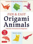 Fun and Easy Origami Animals PDF