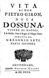 Vita de D. Pietro Giron Duca d ́Ossuna