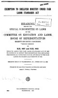 Exemption to Shellfish Industry Under Fair Labor Standards Act PDF