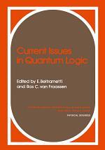 Current Issues in Quantum Logic