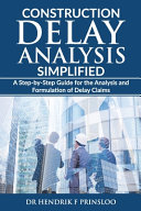 Construction Delay Analysis Simplified PDF